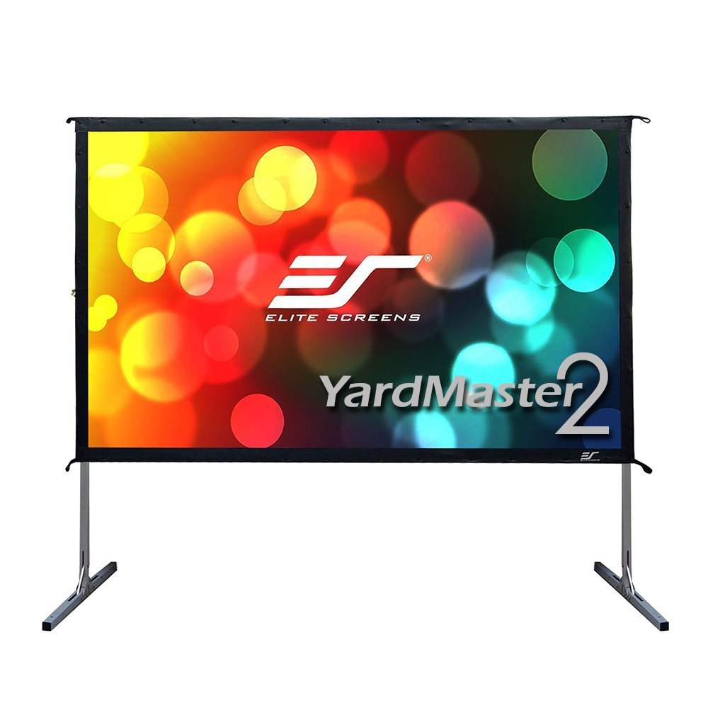 Indoor Outdoor Portable Fast Foldaway Projector Screen with Stand