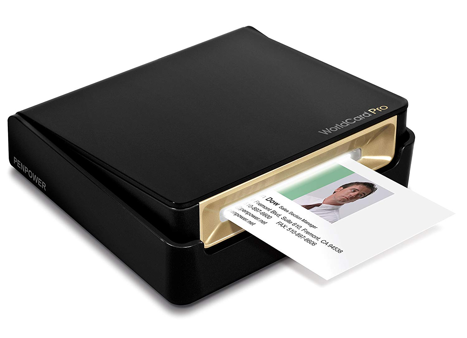 PenPower WorldCard Pro Business Card Scanner