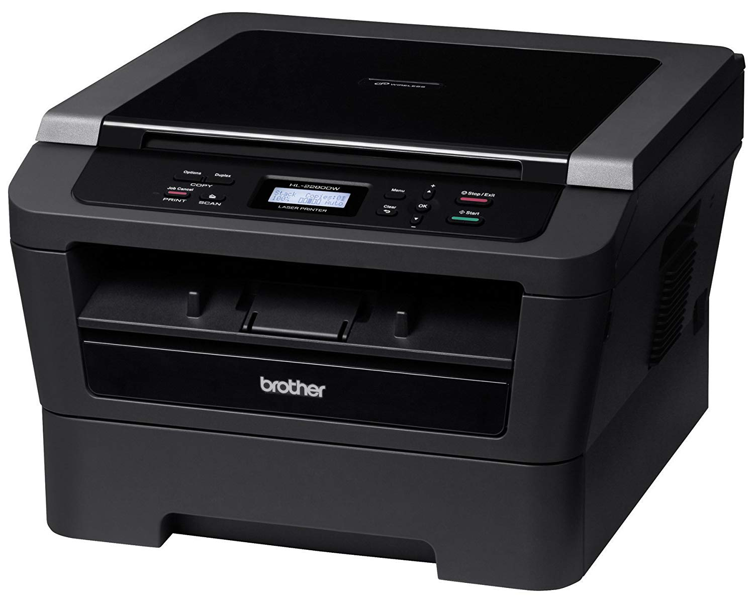 Brother Wireless Monochrome Multifunction Laser Printer