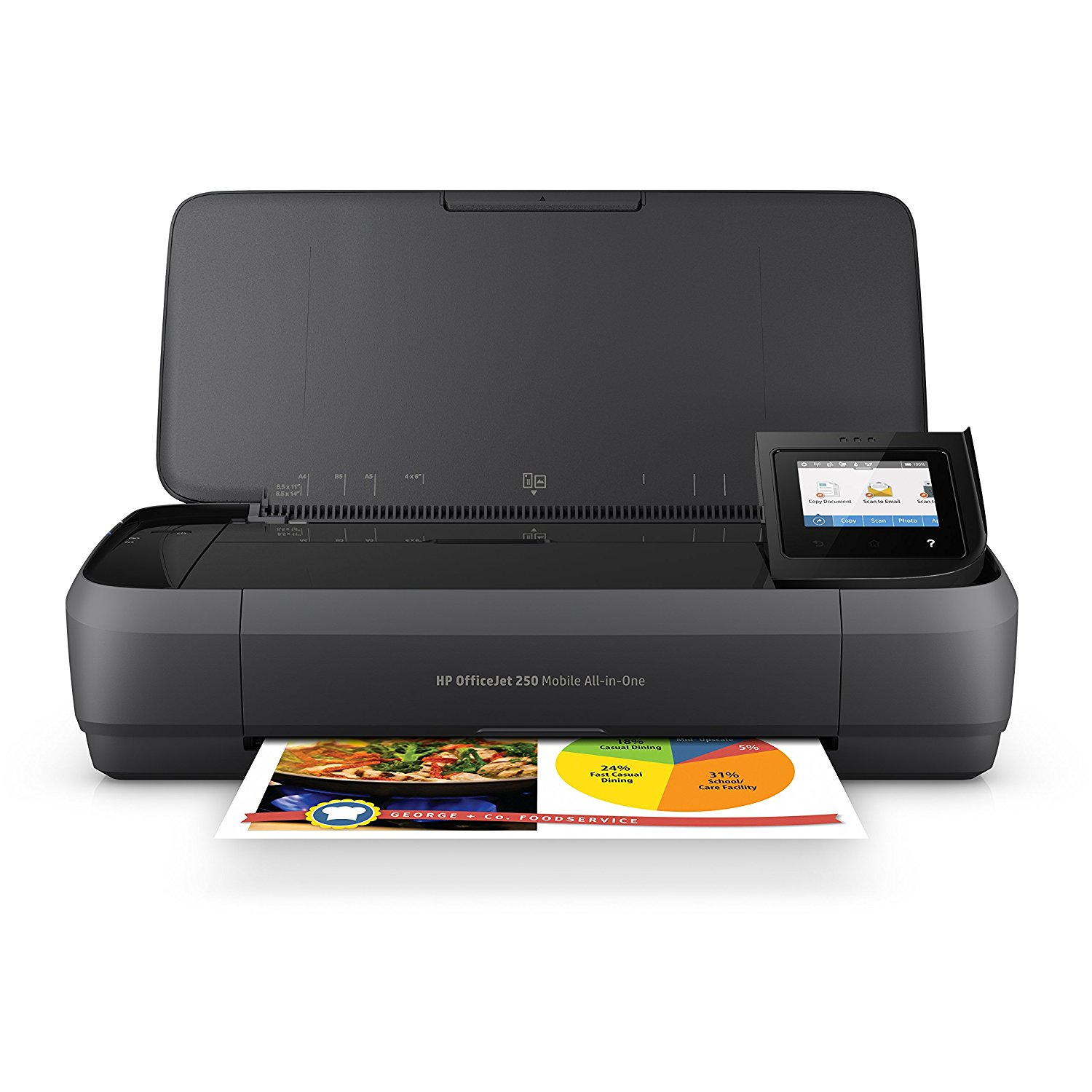 HP OfficeJet All-in-One Portable Printer