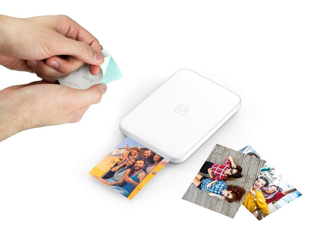 Lifeprint Portable Photo and Video Printer for iPhone and Android