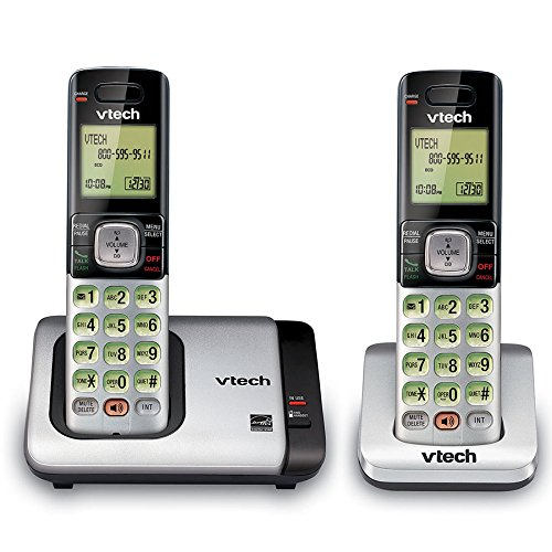 VTech Handset Expandable Cordless Phone with Caller IDCall Waiting, Handset