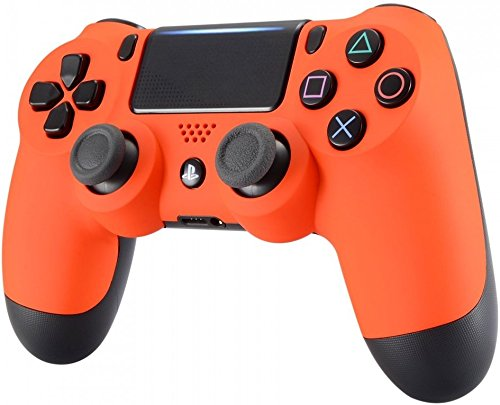 DualShock 4 Wireless Controller for Playstation 4 -Soft Touch (Orange)