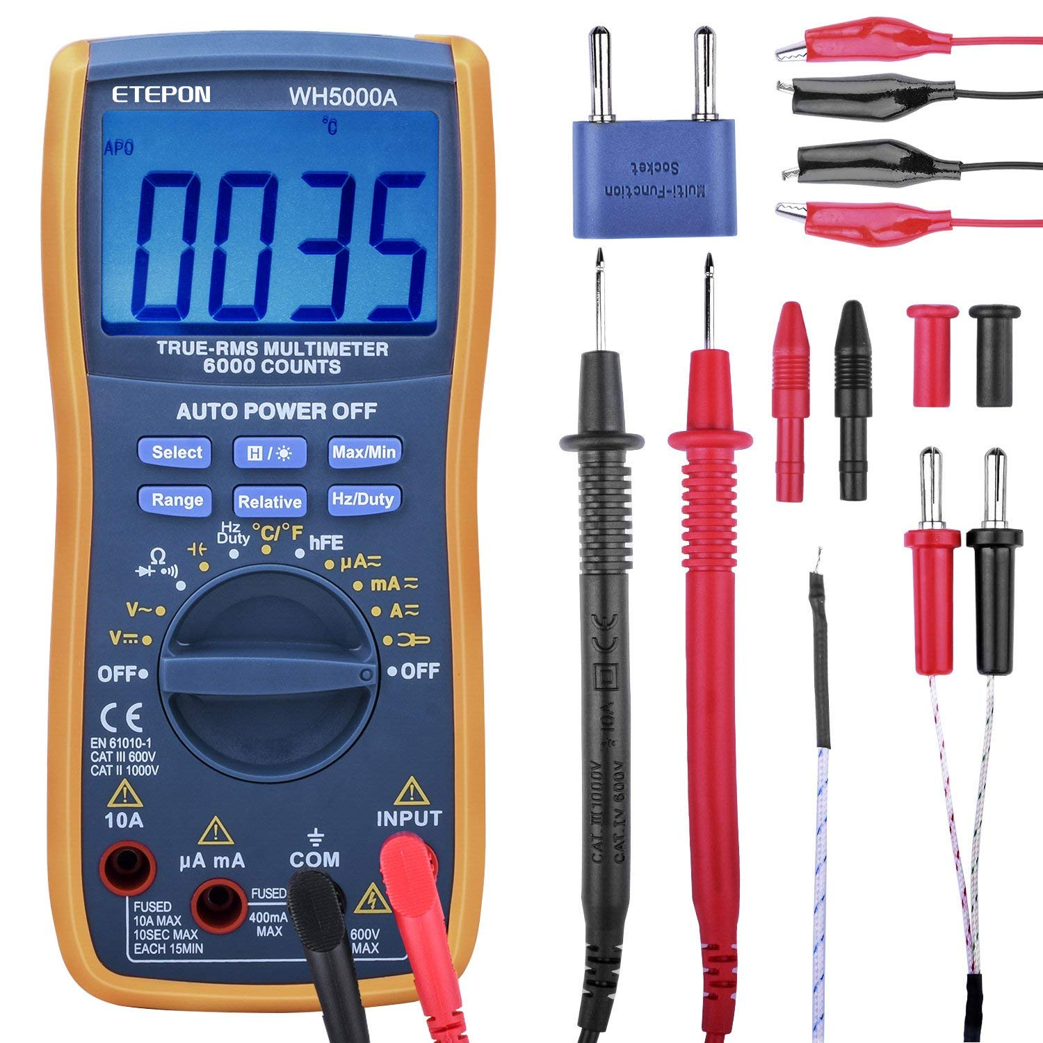 ETEPON Digital Multimeter