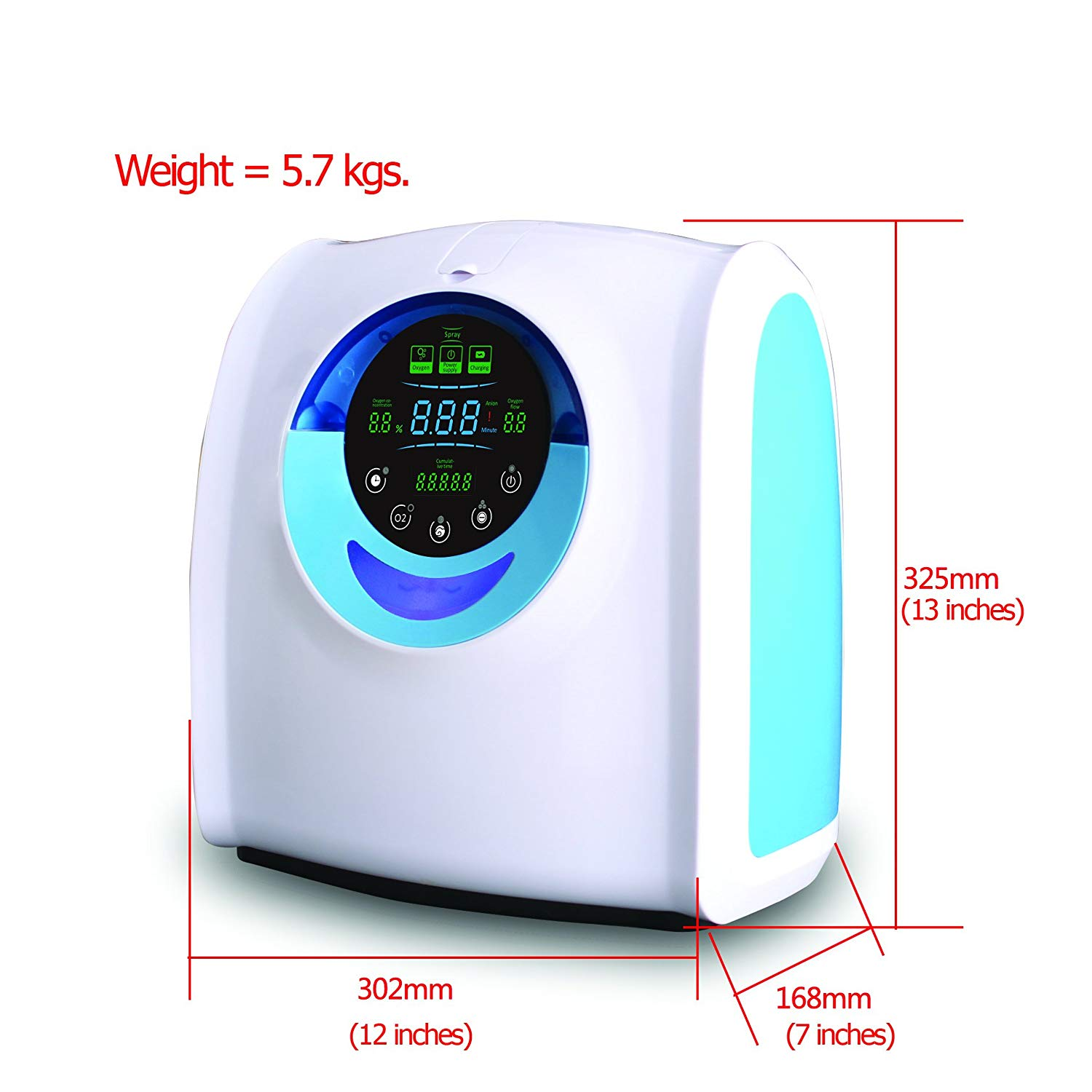 MD Portable Home Travel Oxygen Generator