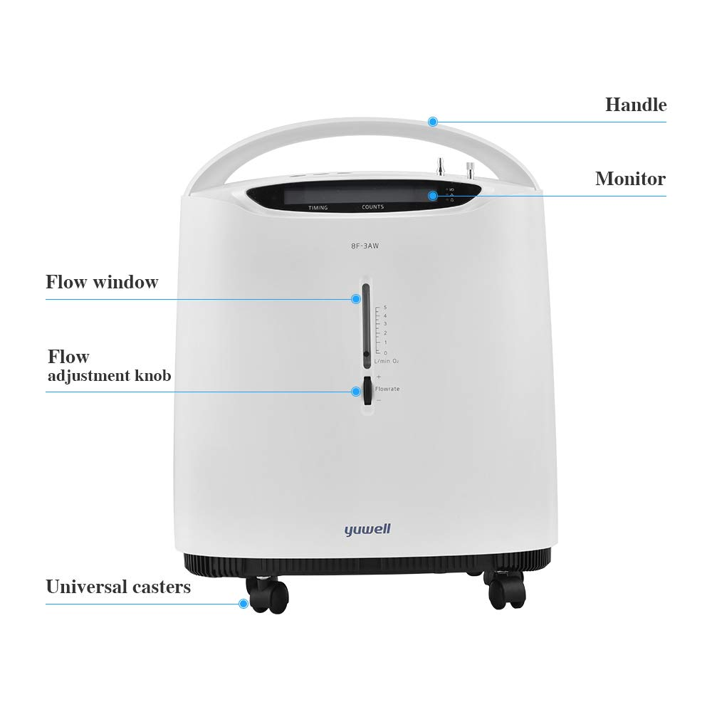 yuwell Home Use Portable Oxygen Concentrator
