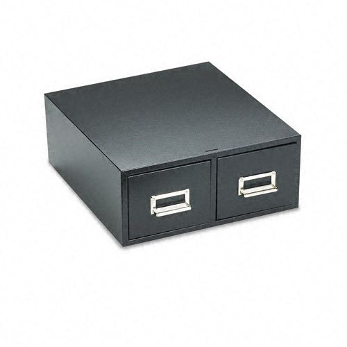 Buddy Products 2 Drawer Card File