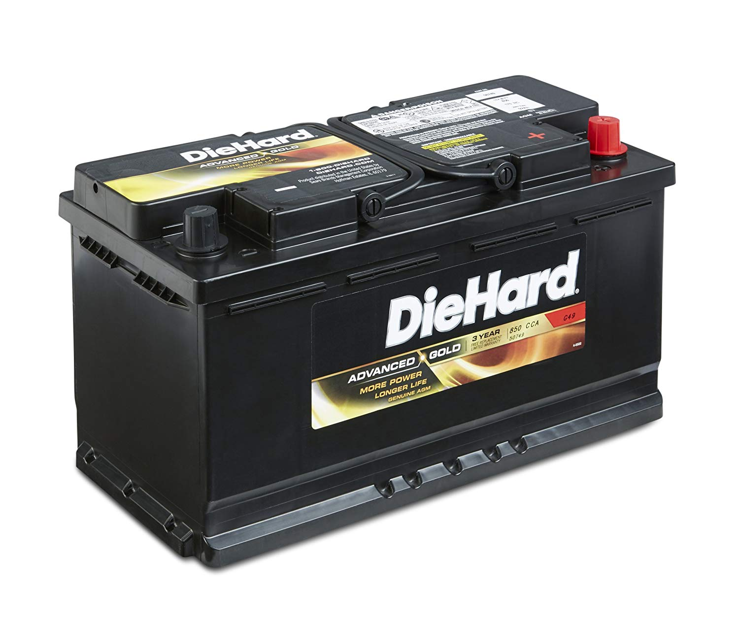 DieHard 38217 Group Advanced Gold AGM Battery