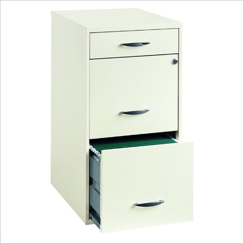 Hirsh Industries 18 Deep 3 Drawer Steel File Cabinet
