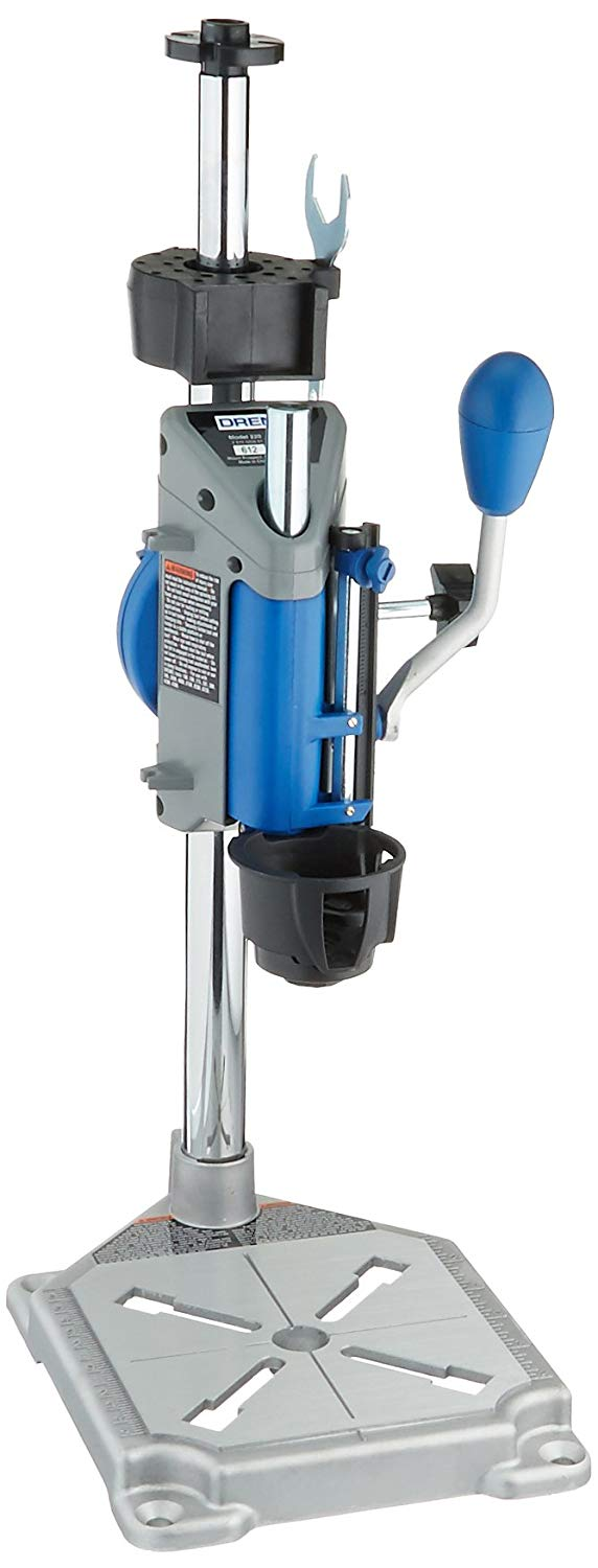Dremel Rotary Tool Workstation Drill Press with Wrench