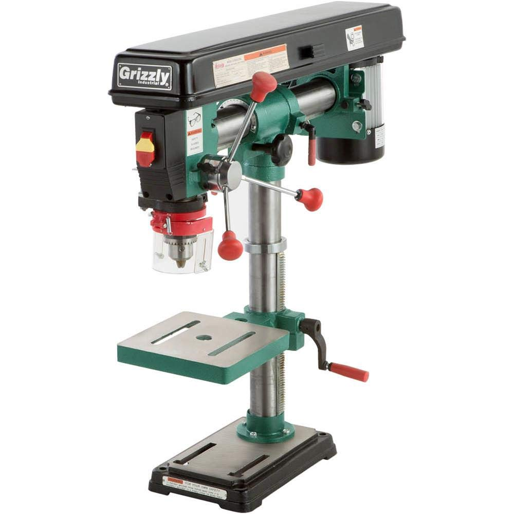 Grizzly Speed Bench-Top Radial Drill Press