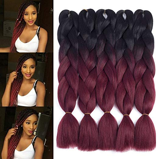 Dingxiu Tone Jumbo Braid Ombre Braiding Hair
