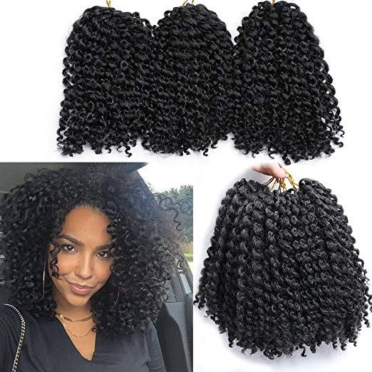 Marlybob Crochet Hair Afro Kinky Curly Hair Crochet Braids