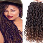 straight crochet hair