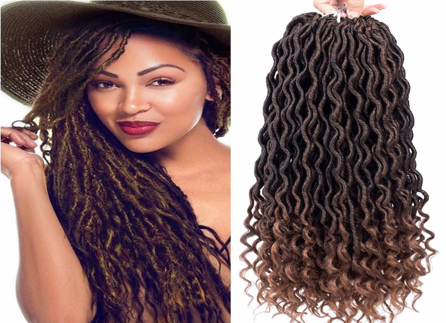 Straight Crochet Hair Braids