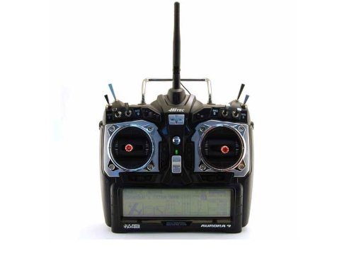 Aurora 9 2.4GHz RC Transmitter, Optima 7 Receiver