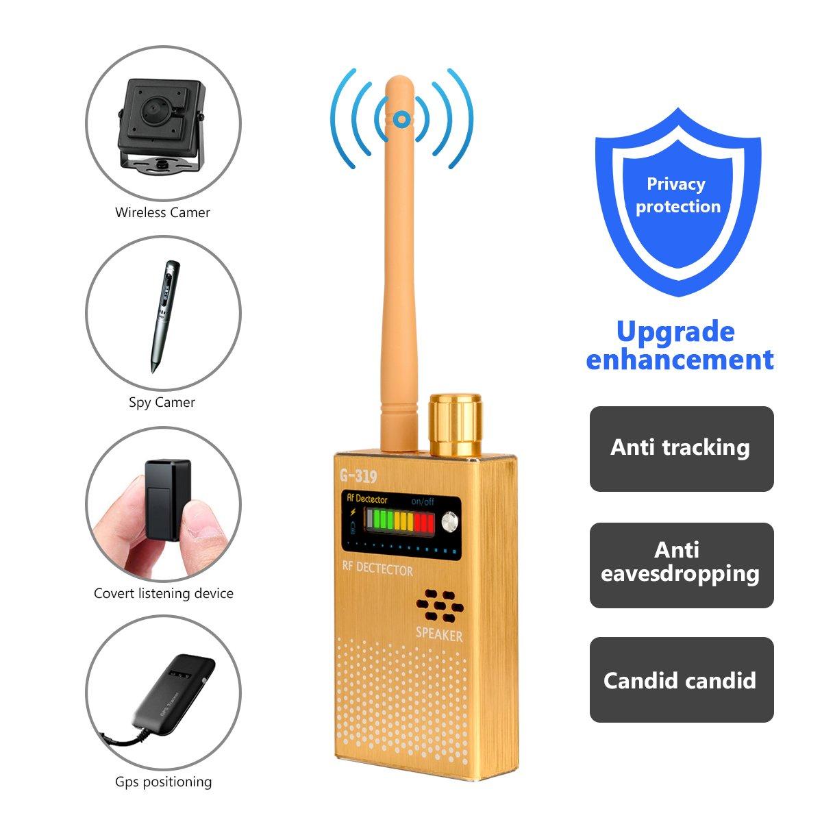 Eilimy Anti-spy Wireless RF Signal Detector