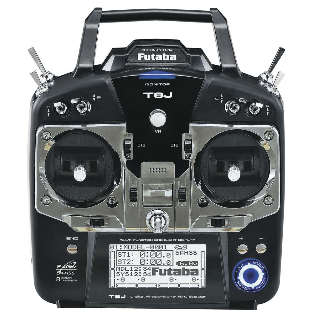Futaba Air Radio Transmitter with Receiver
