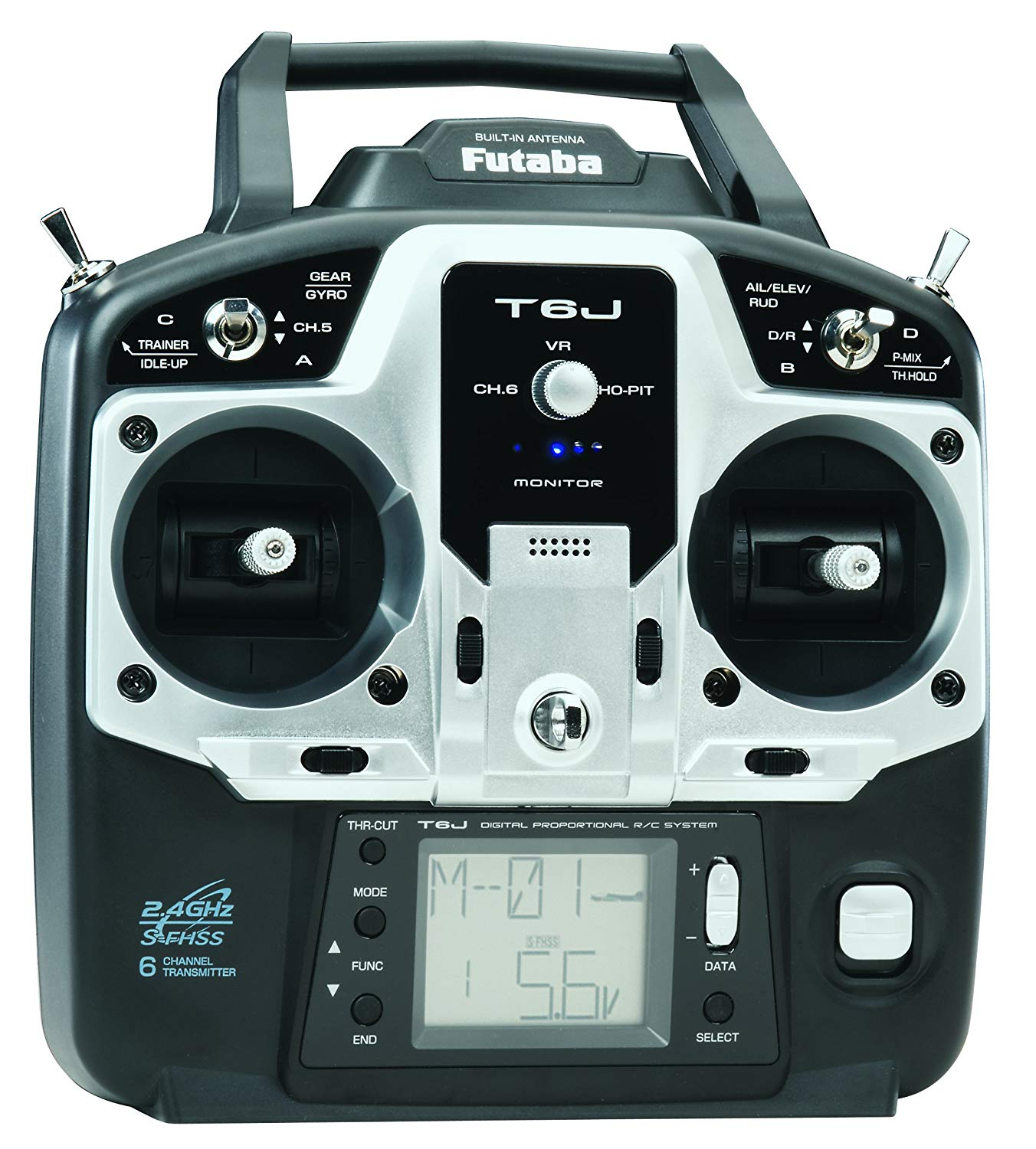 Futaba Radio Transmitter with Receiver