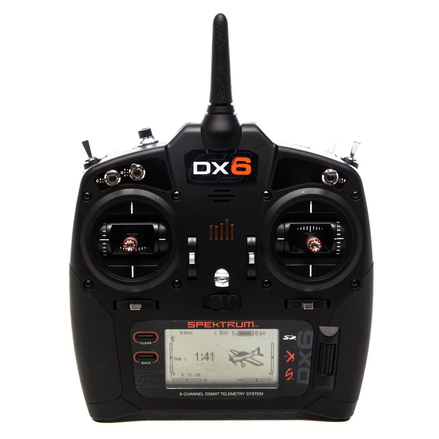 Spektrum DX6 6-Channel RC Radio Transmitter