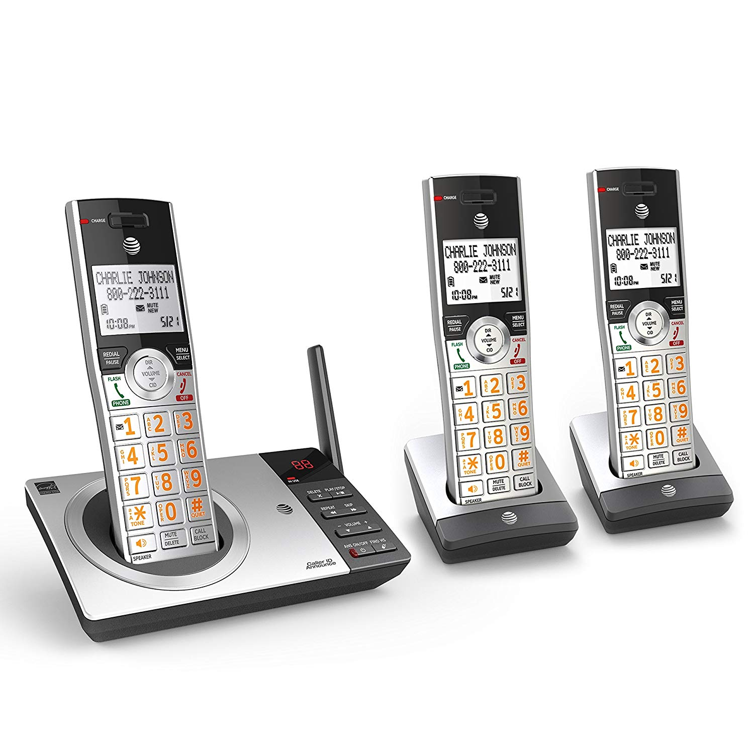 AT&T Cordless Phone with Answering System