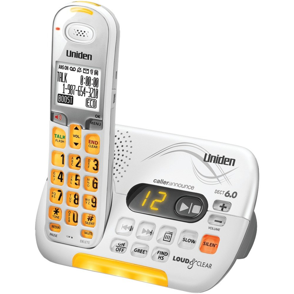 Cordless Phone with Caller ID Answering System